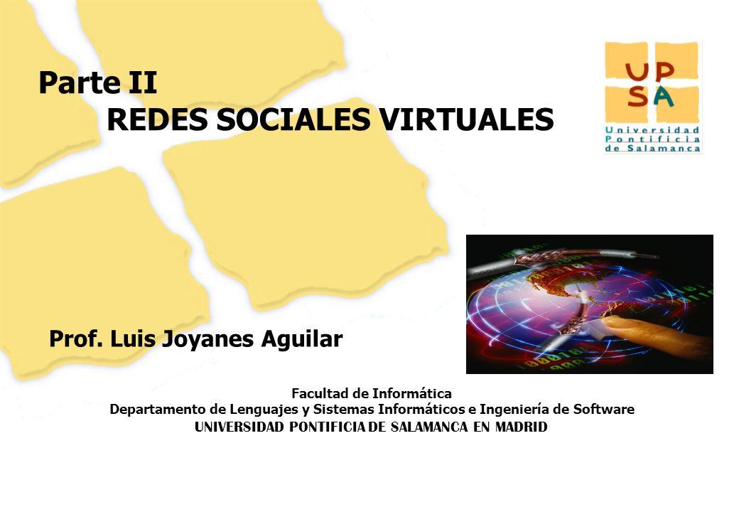 Facultad de Informática Departamento de Lenguajes y Sistemas Informáticos e Ingeniería de Software UNIVERSIDAD PONTIFICIA DE SALAMANCA EN MADRID 102 P