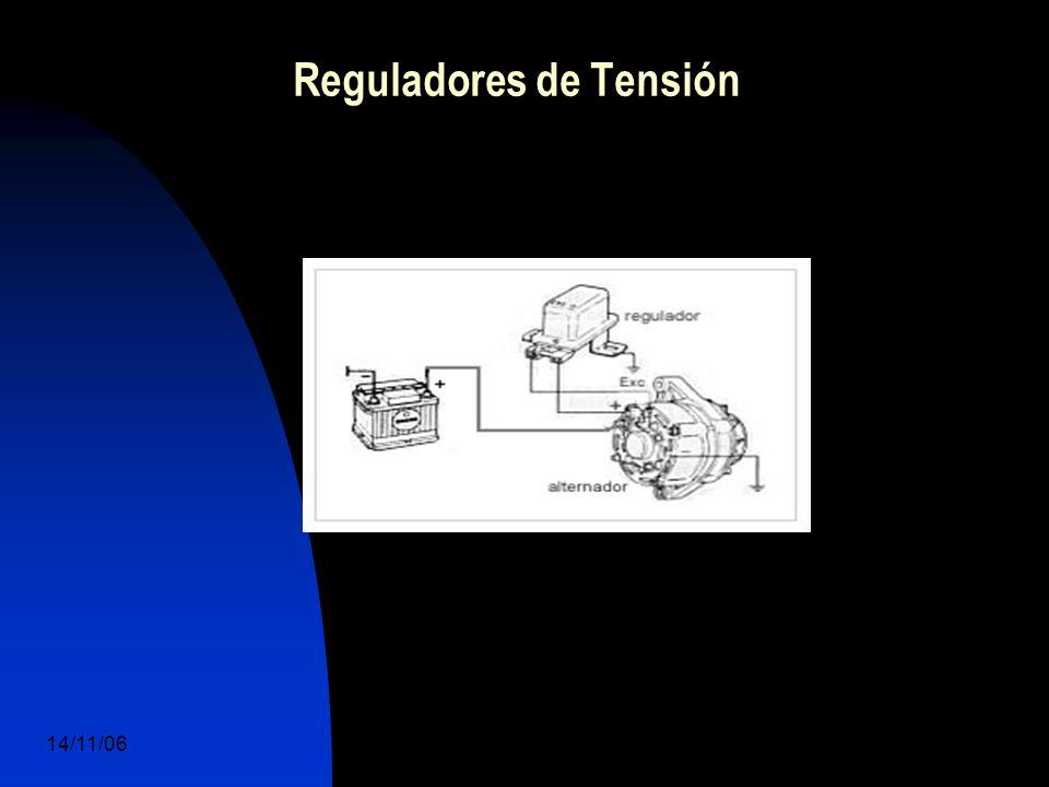 14/11/06 DuocUc, Ingenería Mecánica Automotriz y Autotrónica 38 Reguladores de Tensión