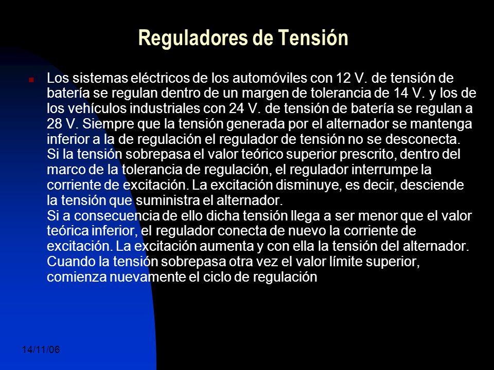 14/11/06 DuocUc, Ingenería Mecánica Automotriz y Autotrónica 40 Los sistemas eléctricos de los automóviles con 12 V.