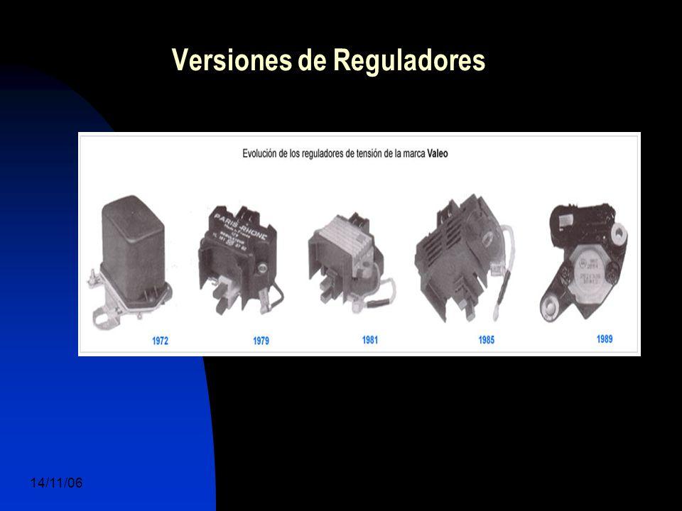 14/11/06 DuocUc, Ingenería Mecánica Automotriz y Autotrónica 43 Versiones de Reguladores