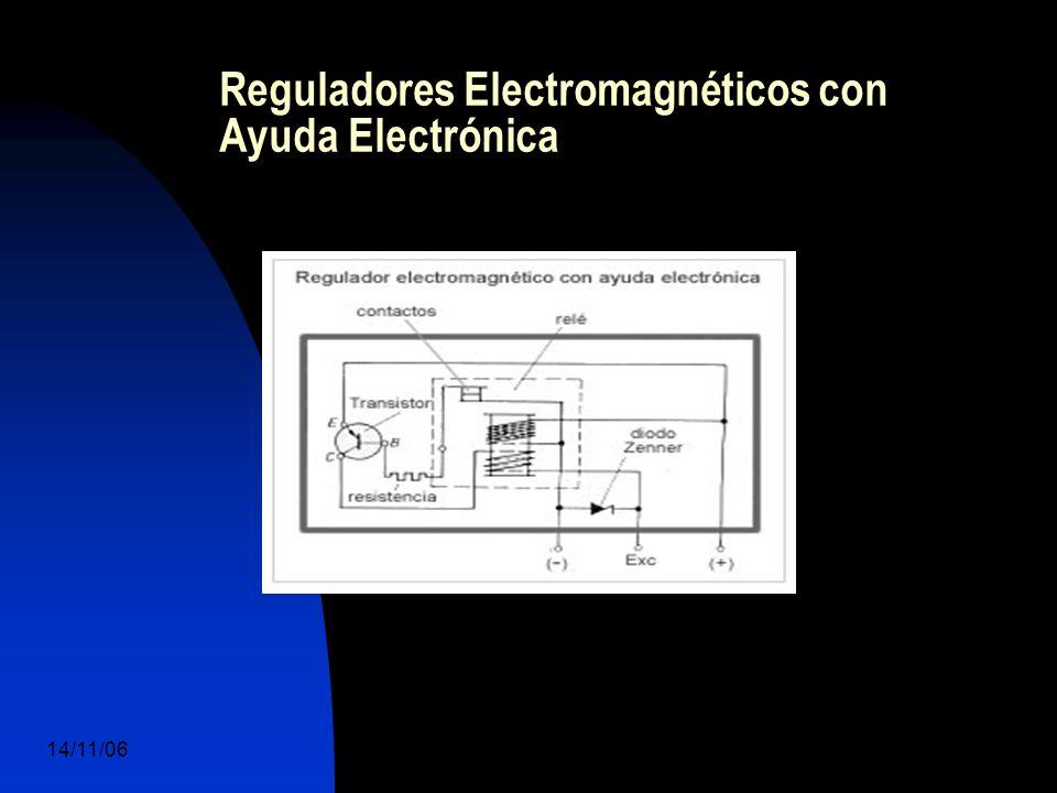 14/11/06 DuocUc, Ingenería Mecánica Automotriz y Autotrónica 48 Reguladores Electromagnéticos con Ayuda Electrónica