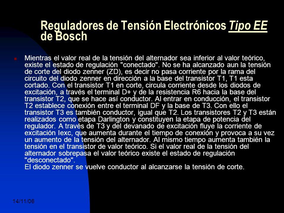 14/11/06 DuocUc, Ingenería Mecánica Automotriz y Autotrónica 50 Mientras el valor real de la tensión del alternador sea inferior al valor teórico, existe el estado de regulación conectado .