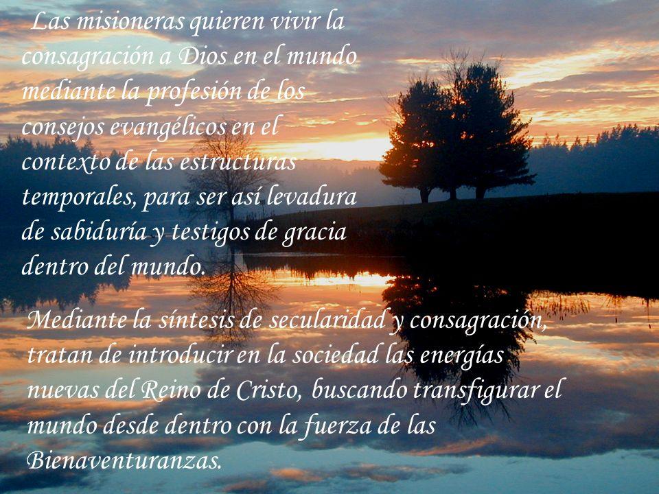 Seguir a Jesucristo más de cerca en el mundo exige vivir en unidad la mística y el compromiso, la contemplación y la acción. La opción por Cristo en l