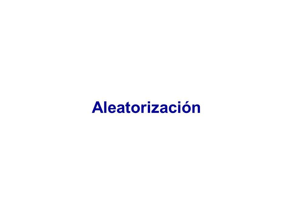 Aleatorización