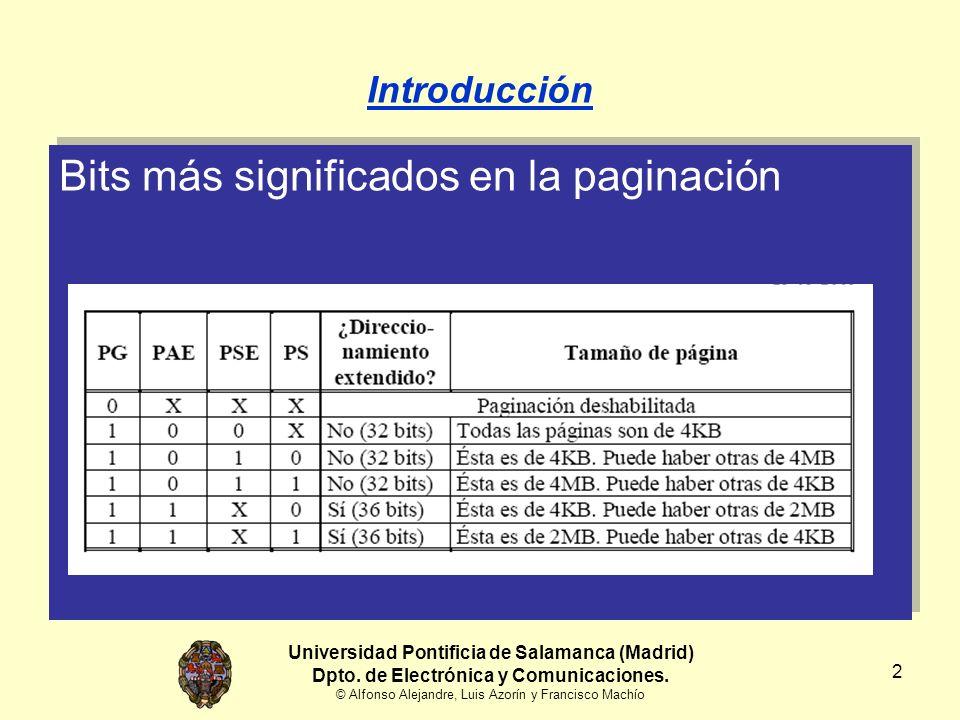 Universidad Pontificia de Salamanca (Madrid) Dpto. de Electrónica y Comunicaciones. © Alfonso Alejandre, Luis Azorín y Francisco Machío 2 Introducción