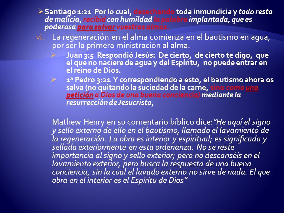 para salvar Santiago 1:21 Por lo cual, desechando toda inmundicia y todo resto de malicia, recibid con humildad la palabra implantada, que es poderosa