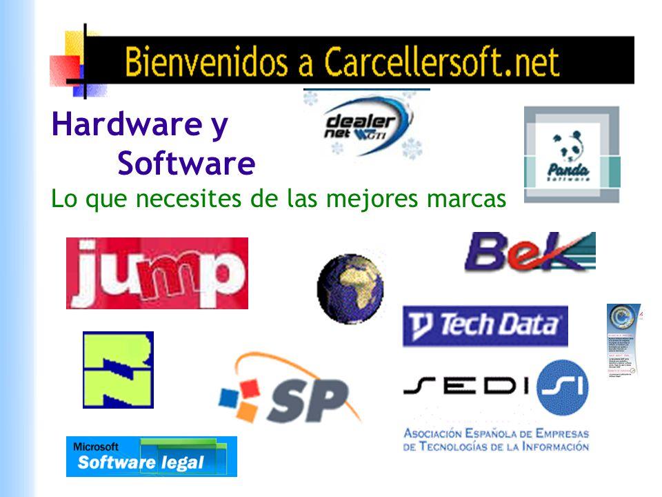 Hardware y Software Lo que necesites de las mejores marcas