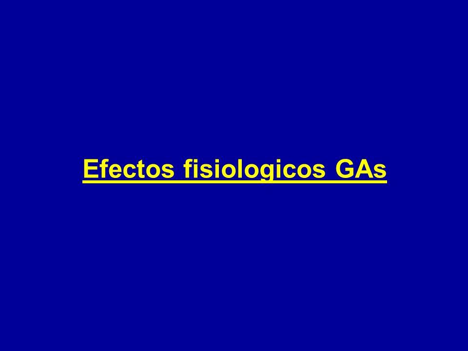 Efectos fisiologicos GAs