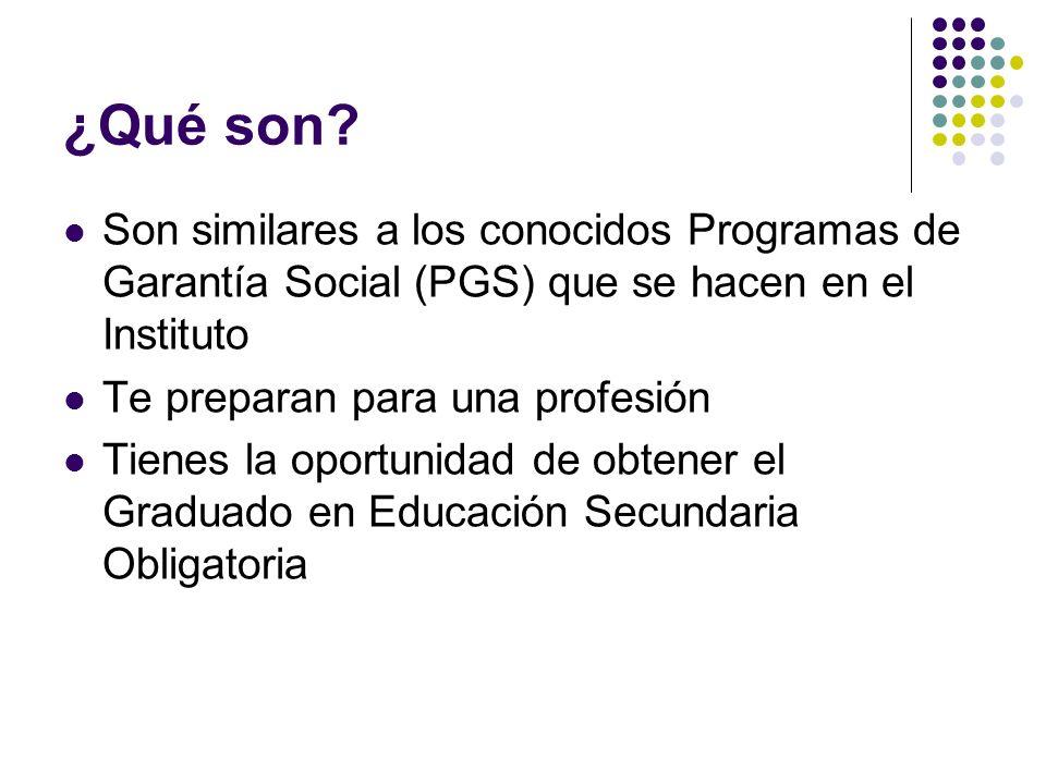 Requisitos Jóvenes menores de 21 años que cumplan 16 en el año de iniciación del Programa y no posean titulación académica alguna.