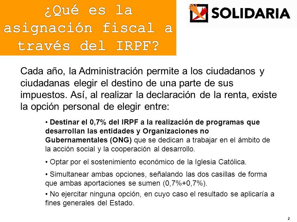 Acciones de comunicación directa Envío de octavillas informativas y carteles a la base social de las ONG y a los agentes intermediarios.