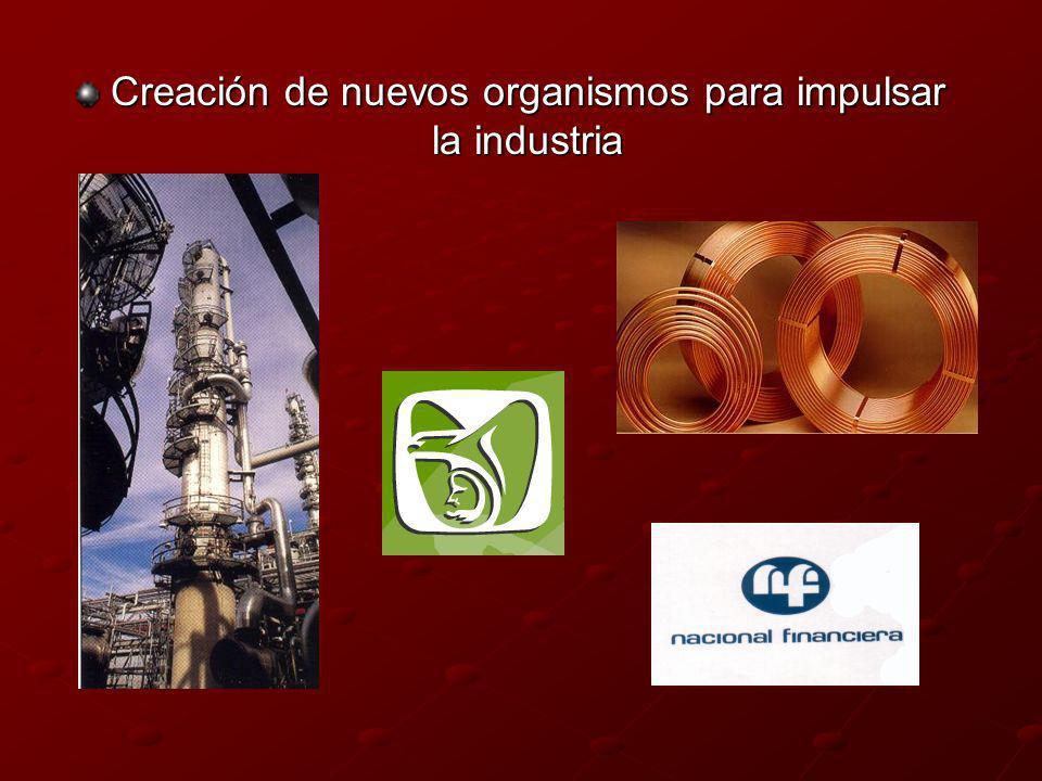 Creación de nuevos organismos para impulsar la industria