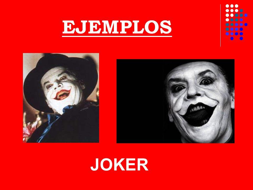EJEMPLOS JOKER
