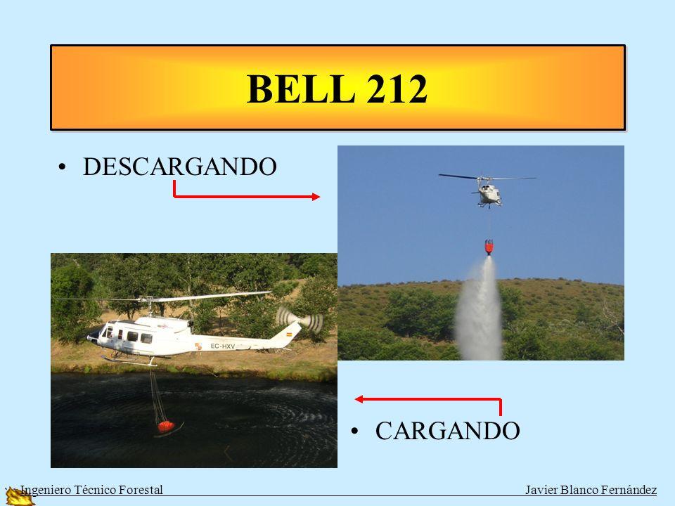 BELL 212 EN TIERRA VOLANDO Ingeniero Técnico Forestal Javier Blanco Fernández