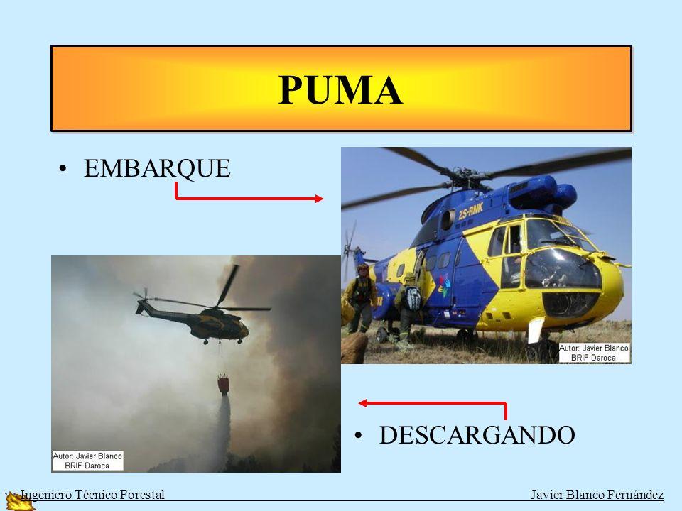 HELICOPTEROS PESADOS TIPOPERSONASAGUAVELOCIDAD PUMA BITURBINA17 + tripulación2000280 km/h SUPER PUMA BITURBINA17 + tripulación2000280 km/h KAMOV BITUR