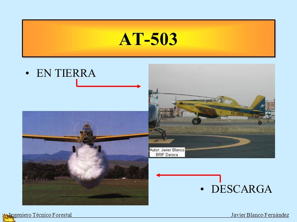 A. CARGA EN TIERRA TIPOAUTONOMÍAAGUAVELOCIDAD AT-503 1 de Turbohélice 4 h2100280 km/h DROMADAIR 1 de Pistones 3 h2200205 km/h HERCULES 4 de Turbohélic