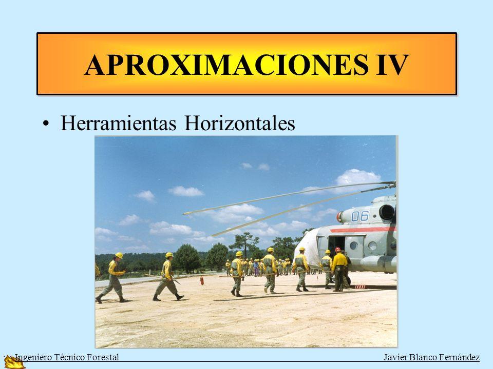 Objetos Sueltos ¡No! APROXIMACIONES IV Ingeniero Técnico Forestal Javier Blanco Fernández