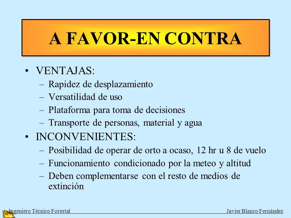 Acercarse Agachados APROXIMACIONES III Ingeniero Técnico Forestal Javier Blanco Fernández