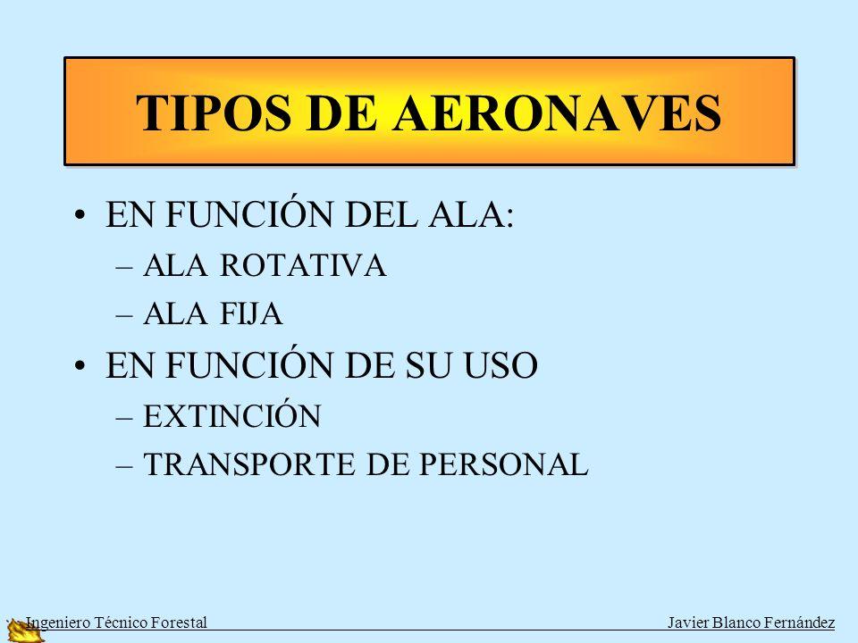 DC-6 y DC-7 Ingeniero Técnico Forestal Javier Blanco Fernández