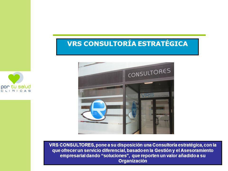 VRS CONSULTORÍA ESTRATÉGICA VRS CONSULTORES, pone a su disposición una Consultoría estratégica, con la que ofrecer un servicio diferencial, basado en