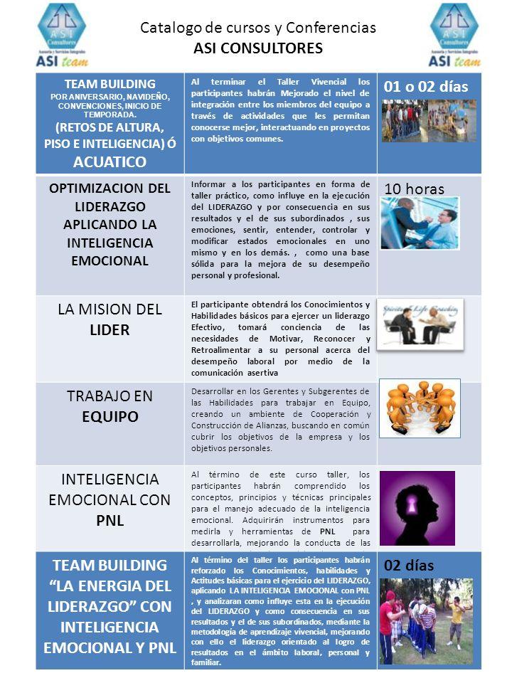 TEAM BUILDING POR ANIVERSARIO, NAVIDEÑO, CONVENCIONES, INICIO DE TEMPORADA. (RETOS DE ALTURA, PISO E INTELIGENCIA) Ó ACUATICO Al terminar el Taller Vi