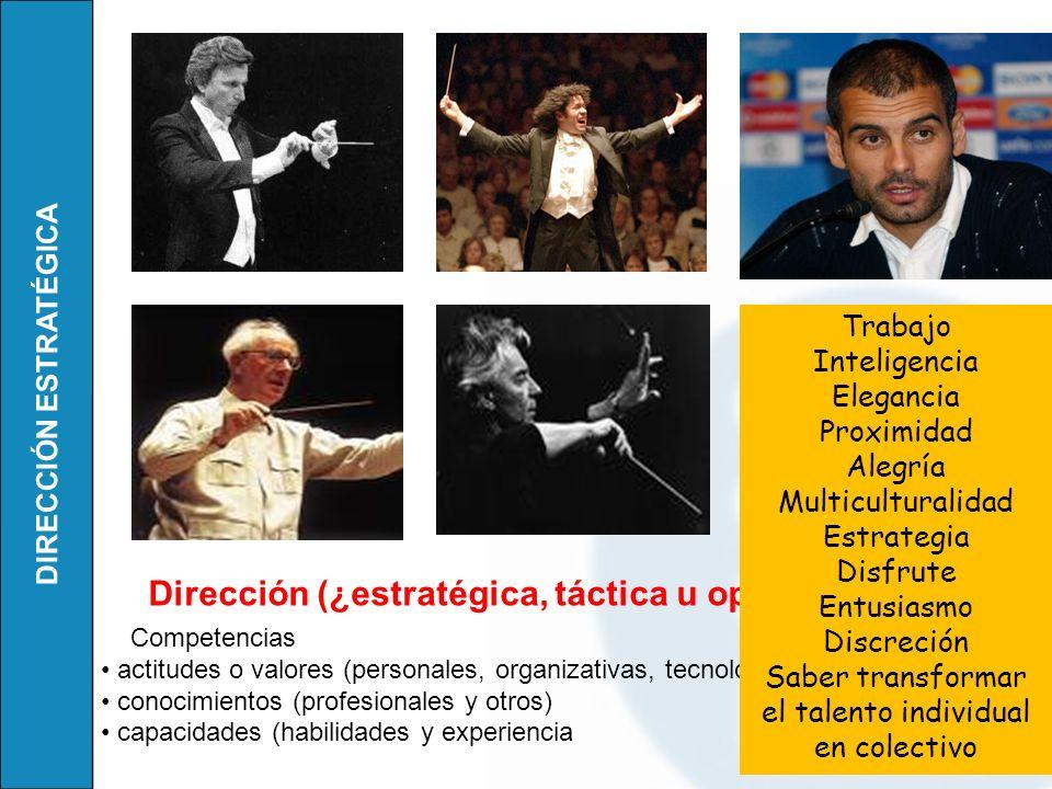DIRECCIÓN ESTRATÉGICA Es un atril de director de orquesta.