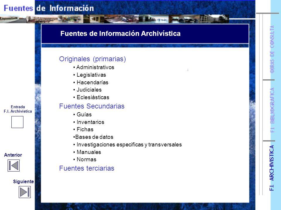 Categorización de Fuentes Categorización de Fuentes Enlaces temáticos Fuentes de información archivística Fuentes de información bibliográfica Obras d