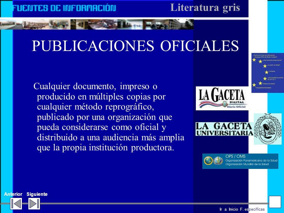 Ir a Inicio F. específicas AnteriorSiguiente ACTAS DE CONFERENCIAS Y CONGRESOS. Contienen resúmenes y textos completos de las ponencias y discusiones
