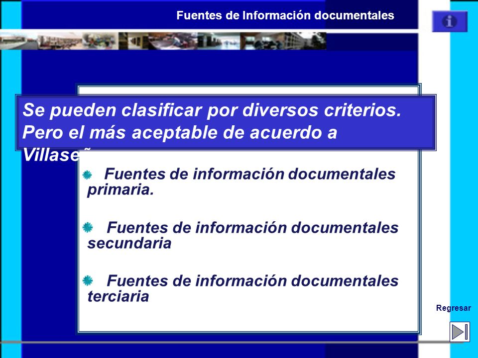 Boletines resúmenes internacionales Biological Abstracts/ BIOSIS Chemical Abstracts/ CAS Search Current Papers in Physics Excerpta Medica/ EMBASE Engineering Index Food and Technology Abstratcs/ FSTA Historical Abstracts International Pharmaceutical Abstracts Current Bibliography in Science and Technology Un Enlace de guia AnteriorSiguiente