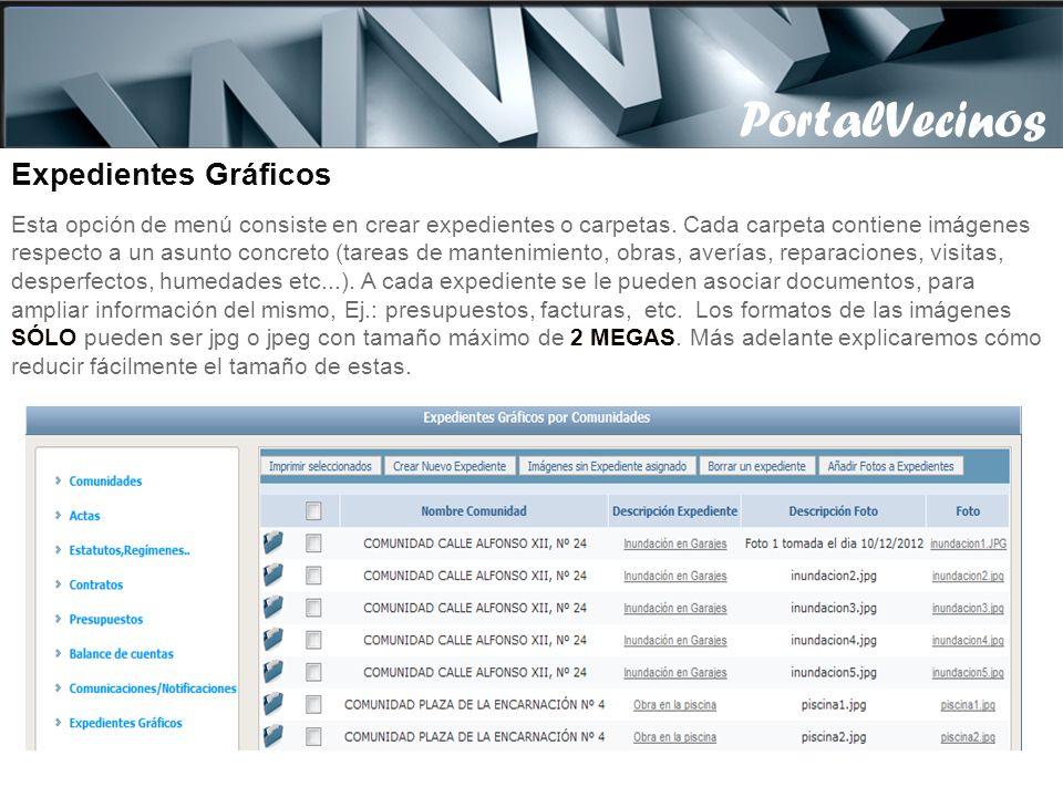 Algunas opciones cómo las comunicaciones/notificaciones o el panel de anuncios, permiten tener hasta 3 documentos por registro, para añadir más docume