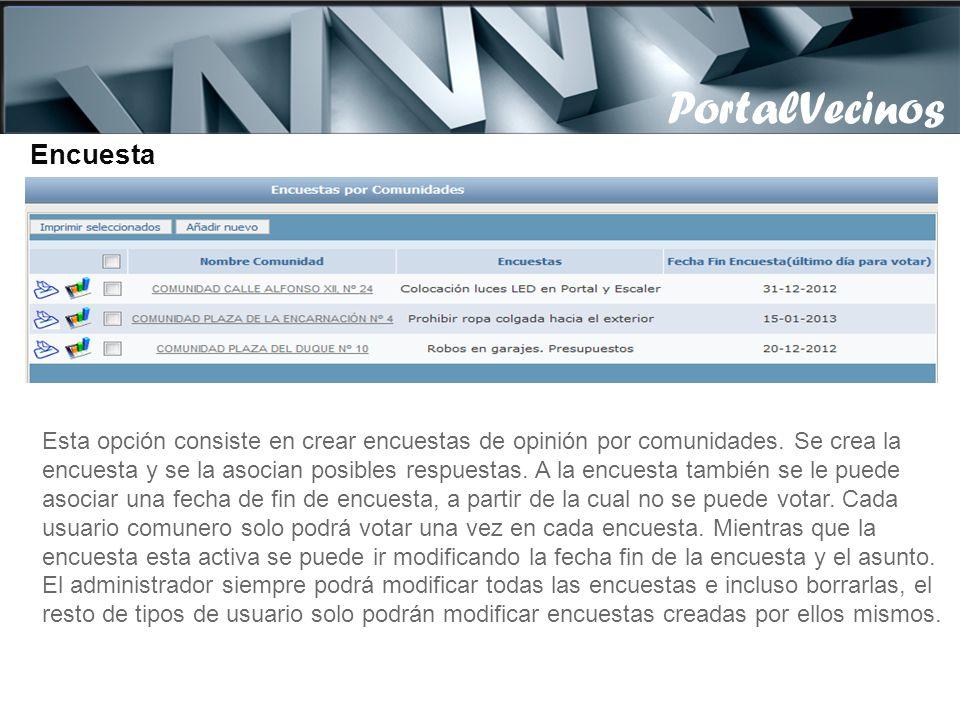 Los proveedores con acceso al portal, por defecto ven datos de los usuarios de la comunidades a las que tengan acceso y que tengan la marca de usuario
