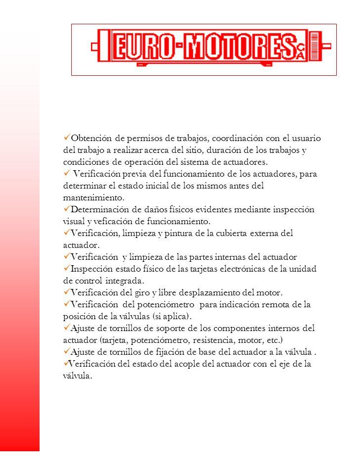 Obtención de permisos de trabajos, coordinación con el usuario del trabajo a realizar acerca del sitio, duración de los trabajos y condiciones de oper