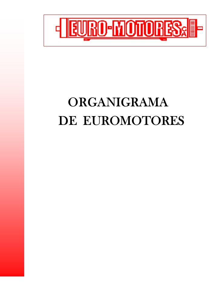 ORGANIGRAMA DE EUROMOTORES