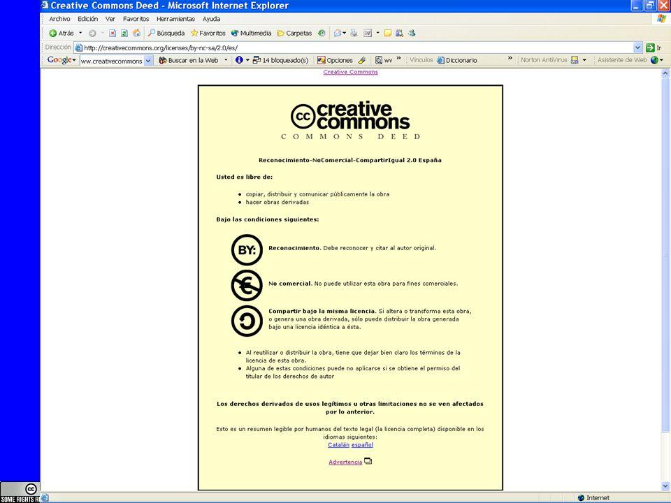 www.bufetalmeida.com 36 Reconocimiento, NoComercial, CompartirIgual, 2.0