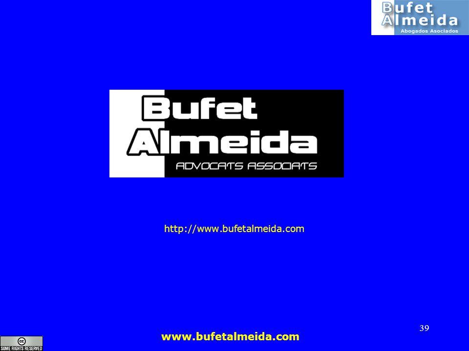 www.bufetalmeida.com 39 http://www.bufetalmeida.com