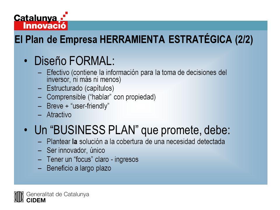 Diseño FORMAL: –Efectivo (contiene la información para la toma de decisiones del inversor, ni más ni menos) –Estructurado (capítulos) –Comprensible (h