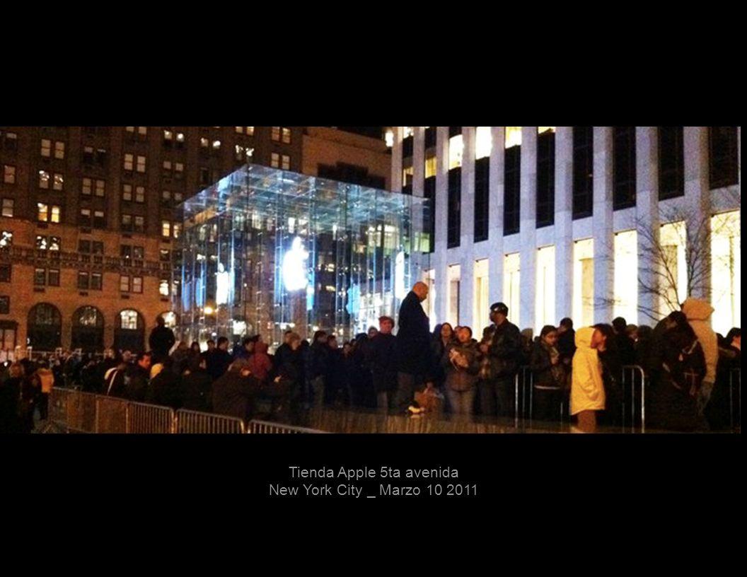 Tienda Apple 5ta avenida New York City _ Marzo 10 2011