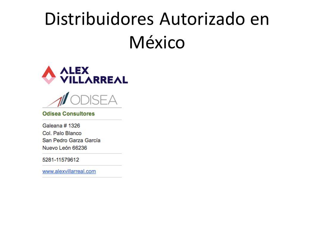 Distribuidores Autorizado en México