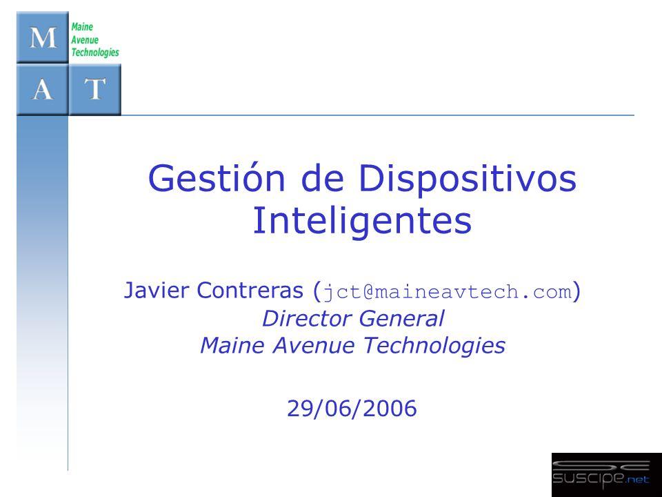 29/06/2006 © 2006 - Maine Avenue Technologies 22 ¡Muchas Gracias.