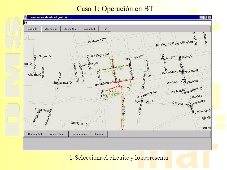 inar Caso 1: Operación en BT 1-Selecciona el circuito y lo representa