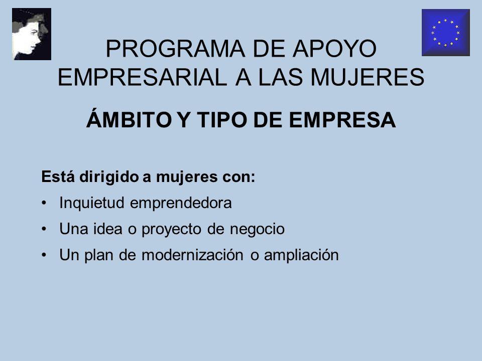 PROGRAMA DE AYUDAS EMPRENDER EN FEMENINO TRAMITACIÓN Según modelo de solicitud del anexo I de la presente convocatoria y con la documentación contenida en el apartado 3 del artículo 5.