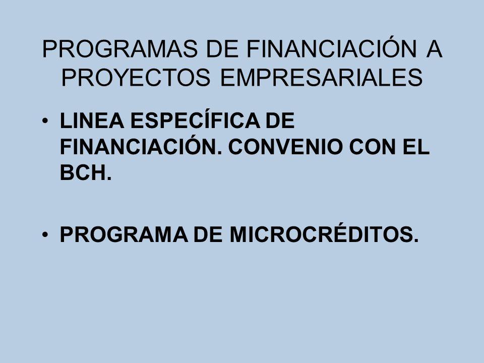 LINEA ESPECÍFICA DE FINANCIACIÓN.