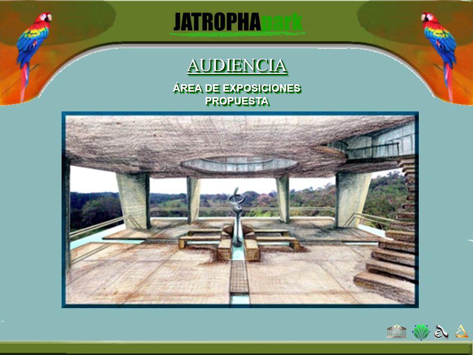 AUDIENCIA ÁREA DE EXPOSICIONES PROPUESTA AUDIENCIA