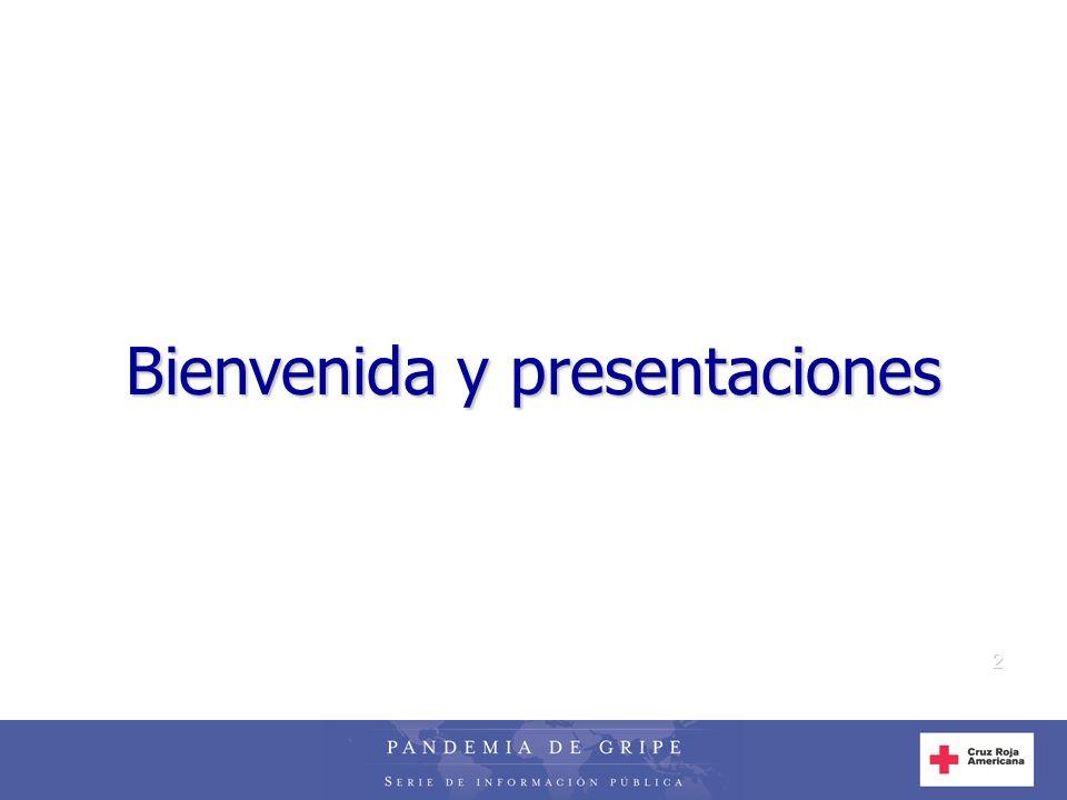 2 Bienvenida y presentaciones