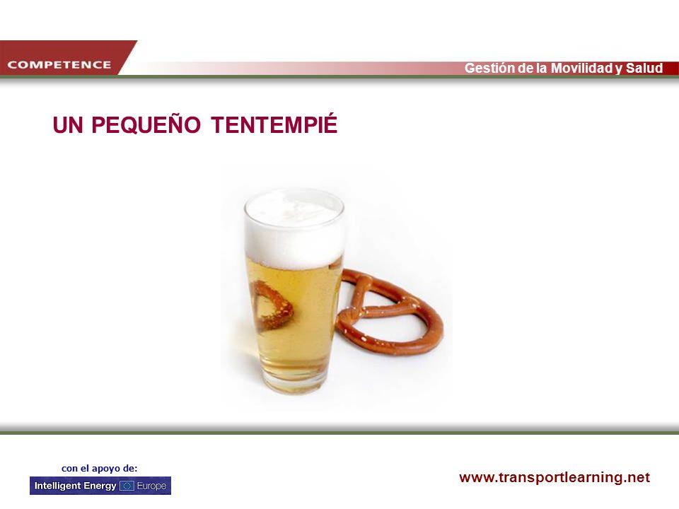www.transportlearning.net Gestión de la Movilidad y Salud con el apoyo de: UN PEQUEÑO TENTEMPIÉ