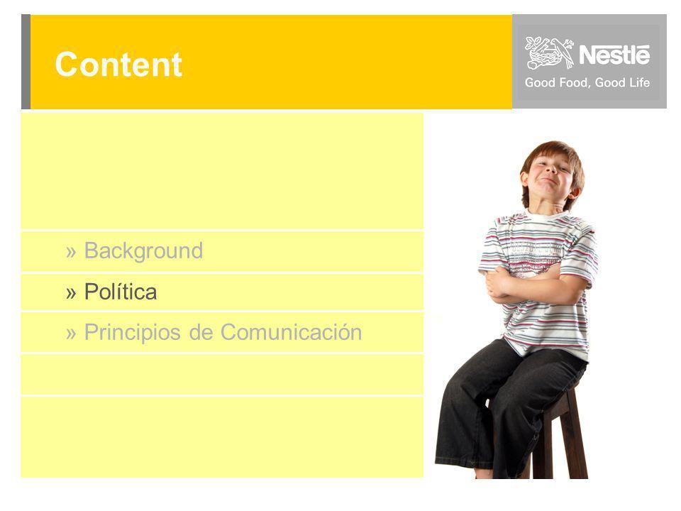 D I C I E M B R E 2 0 0 8 Dpto. Comunicaciones y Serv. Marketing » Background » Política » Principios de Comunicación Content