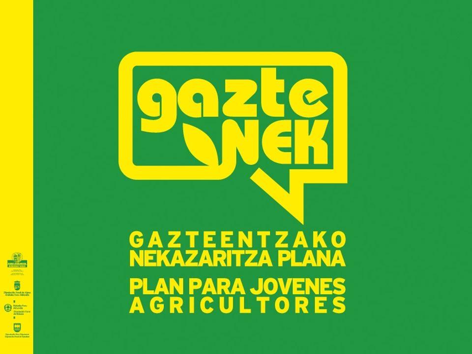 OBJETIVOS Impulsar la incorporación y mantenimiento de jóvenes agricultores/as en el sector agrario vasco.