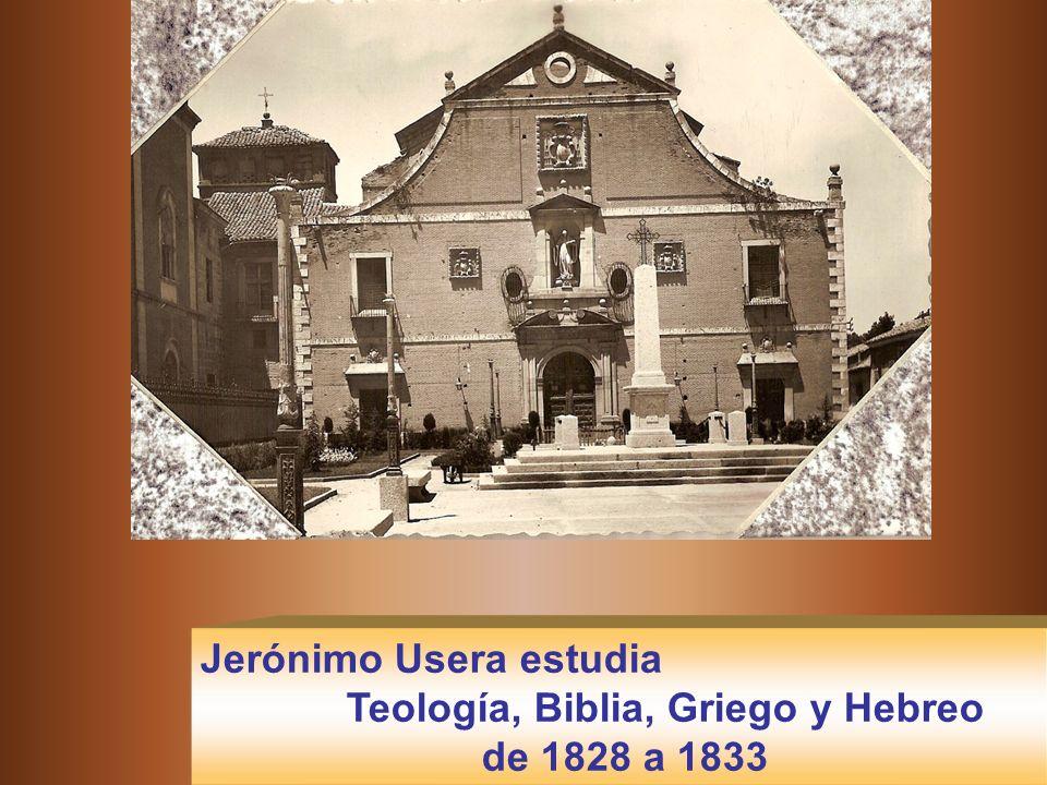Estudia en el Colegio de Teología de Alcalá (Madrid) donde la Congregación cisterciense de Castilla establece un Centro de estudios para los frailes m
