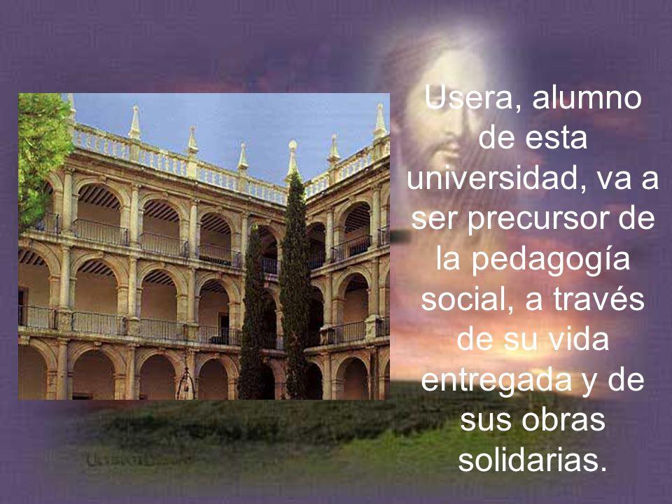 Jerónimo Usera estudia Teología, Biblia, Griego y Hebreo de 1828 a 1833