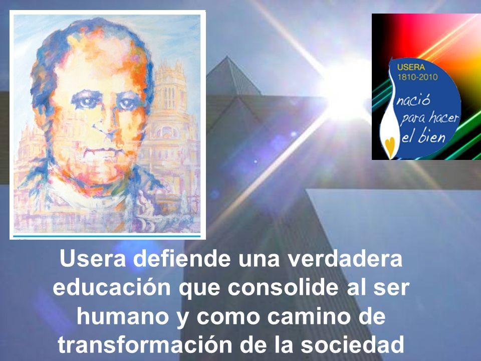 La esmerada formación que recibe, sirve de base al sistema pedagógico de las instituciones que funda con el objetivo de impartir una sólida formación.