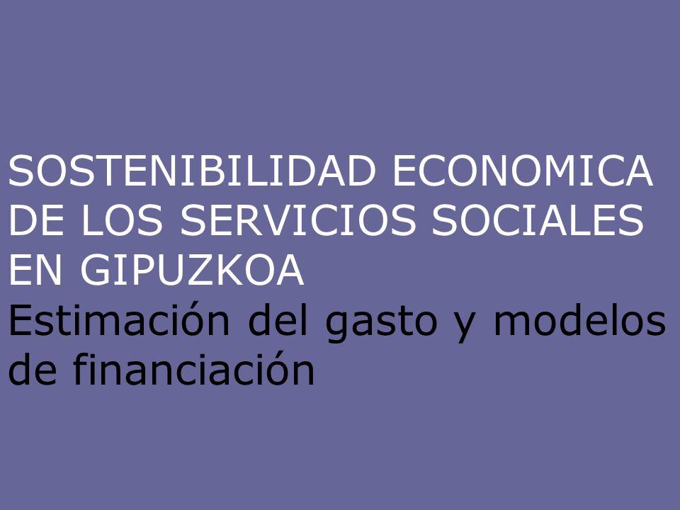 ESTRATEGIA COMBINADA Para garantizar la sostenibilidad económica del sistema de servicios sociales sería conveniente optar por una estrategia global que combine las siguientes medidas: Contención y racionalización, sobre todo a través de la priorización de determinados servicios y prestaciones, la prevención y la inversión en I+D.